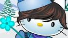 Vestir de invierno de Hello Kitty