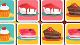 Juego de memoria de pastelería