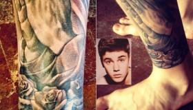 Justin tiene un tatuaje nuevo