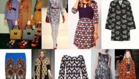 Estampados de moda para el invierno