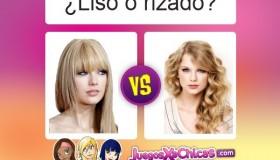 ¿Qué peinado es mejor? ¿Pelo liso o rizado?
