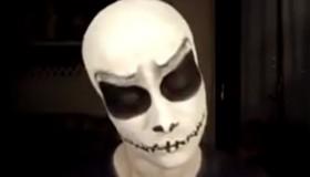 Maquillaje monstruoso de Halloween: Jack Esquéleton