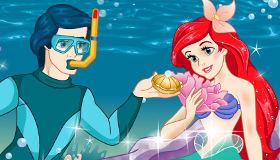 Ariel con el príncipe