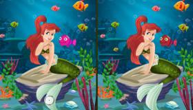 Encuentra las diferencias con La Sirenita