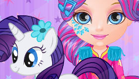 Bebé Barbie My Little Pony