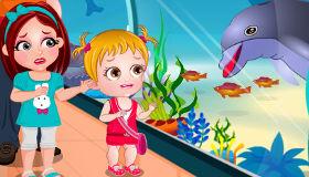 Baby Hazel y los delfines
