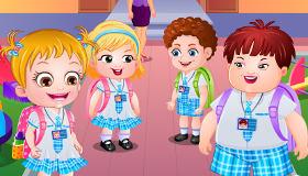Baby Hazel en la escuela