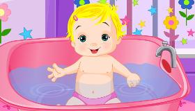 Bañar a un bebé