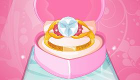 El anillo de boda de Barbie