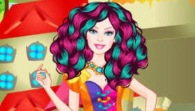 Barbie estilo Ever After High