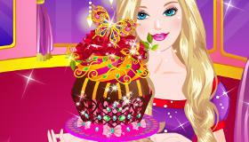 Barbie pastelera
