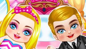 Barbie y Ken de bebés