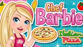 Cocina con Barbie Pizza