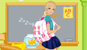 Barbie Back to College