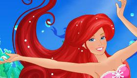 Barbie sirena y los colores mágicos