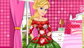 Barbie diseña moda navideña