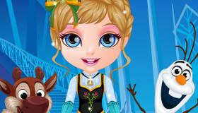 Barbie de bebé Frozen