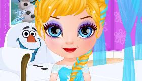 Barbie Baby peinados de Frozen