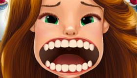 Juego de dentistas de la Bella y la Bestia