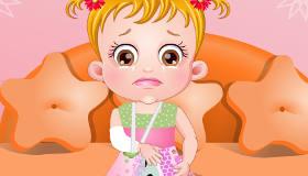 Baby Hazel cuidado de la piel