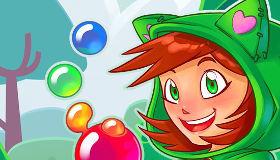 Disparar burbujas de colores
