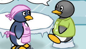 Camarera de pingüinos