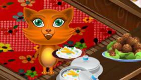 Jefe de restaurante para gatos