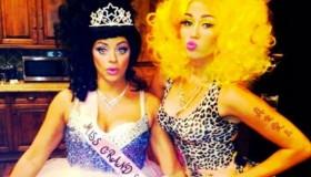Miley Cyrus se disfraza de Nicki Minaj