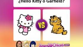 ¿Qué gato es mejor? ¿Hello Kitty o Garfield?