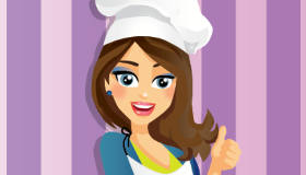 Cocina galletas de chocolate