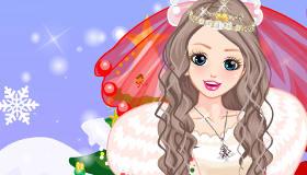 Vestidos de boda en Navidad