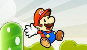 Mario Bros vuela