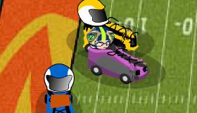 Fútbol con autos
