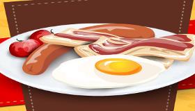 Cocinar huevos fritos