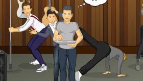 One Direction bailando a lo loco