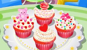 Pasteles de San Valentín