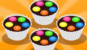 Muffin con lacasitos para un cumpleaños