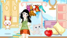 Juegos de decoración de casa de muñecas online
