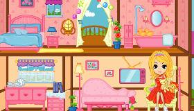 Decorar casas de muñecas