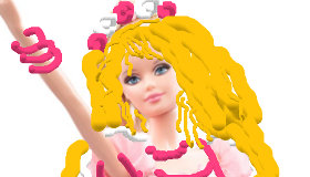 Pinta a Barbie