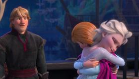 Busca los copos de Frozen