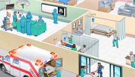 Médicos en hospitales