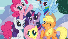 My Little Pony busca la corona