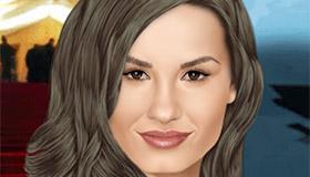 Maquilla a Demi Lovato