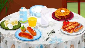 Juego de desayuno para chicas