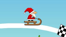 Juego de deslizamiento con Papá Noel