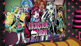 Decorar una habitación de Monster High
