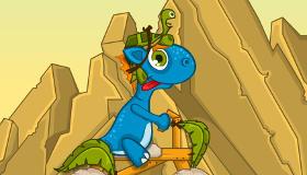Juego de dinosaurio para chicas