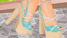 Diseñar zapatos de moda