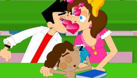 Besos en el aula